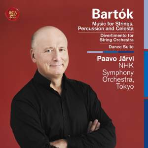 Bartók: Music for Strings, Percussion and Celesta, Divertimento & Dance Suite Product Image