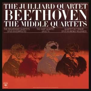 Beethoven: The Middle Quartets, Op. 59 Nos. 1 - 3; Op. 74 & Op. 95