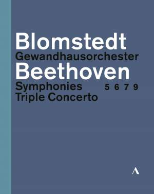 Beethoven: Symphonies Nos 5, 6, 7 & 9 & Triple Concerto Product Image