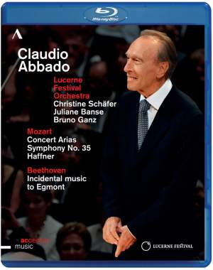Claudio Abbado conducts Mozart & Beethoven