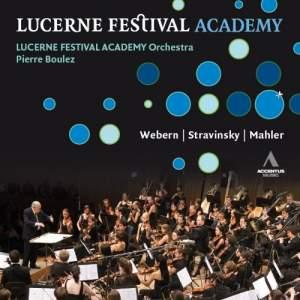 Pierre Boulez conducts Webern, Stravinsky & Mahler Product Image