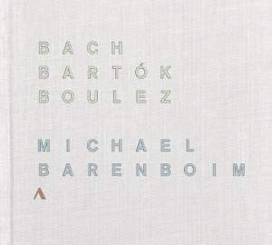 Bach, Bartok & Boulez: Works for Solo Violin Product Image