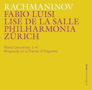 Rachmaninov: Piano Concertos 1-4 & Rhapsody on a Theme of Paganini Product Image