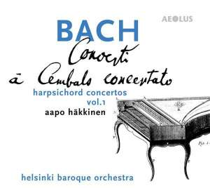 JS Bach: Concertos for solo harpsichord and strings Vol. 1 Product Image