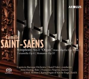 Saint-Saëns: Symphony No. 3 'Organ' (Arr. Guy Bovet) Product Image