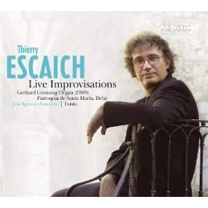 Thierry Escaich: Live Improvisations