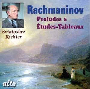 Rachmaninov - Preludes & Etudes-Tableaux