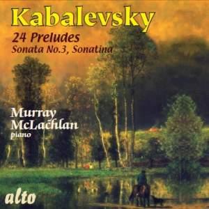 Kabalevsky - 24 Preludes & Sonatina & Sonata