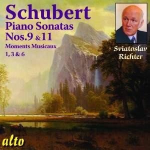 Schubert: Piano Sonatas Nos. 9 & 11