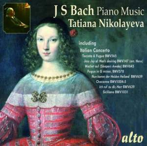 Tatiana Nikolayeva plays Bach for Piano Product Image