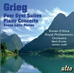 Grieg: Peer Gynt Suites 1 & 2, Piano Concerto & 7 Lyric Pieces