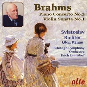 Brahms: Piano Concerto No. 2 & Violin Sonata No. 1 Product Image