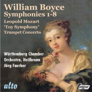 William Boyce: Eight Symphonies, Op. 2