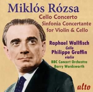 Miklós Rózsa: Cello Concerto & Sinfonia Concertante