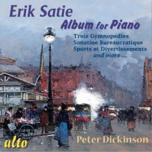 Satie: Album for Piano Product Image