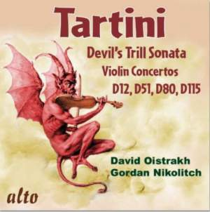 Tartini: The Devil's Trill & Violin Concertos D12, D51, D80, D115
