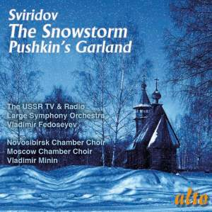Gyorgy Sviridov: The Snowstorm, Pushkin's Garland & Three Choruses Product Image