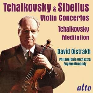 Tchaikovsky & Sibelius Violin Concertos Product Image