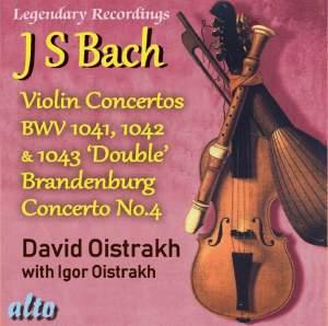 Bach: Violin Concertos & Brandenburg Concerto No. 4 Product Image