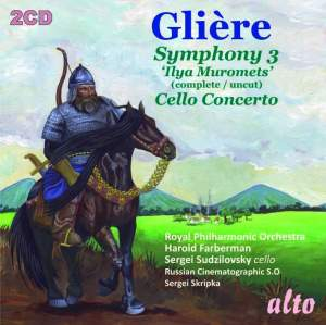Glière: Symphony No. 3 & Cello Concerto