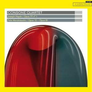 Consone Quartet play Haydn & Mendelssohn Product Image