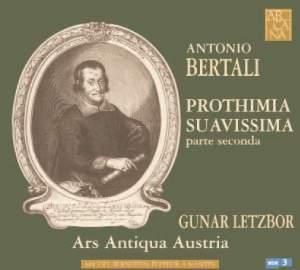 Bertali: Prothimia Suavissima - parte seconda Sonatas 1-12