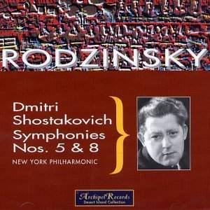 Shostakovich: Symphonies Nos. 5 & 8