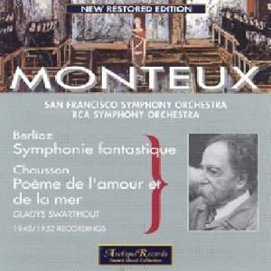Monteux conducts Berlioz & Chausson
