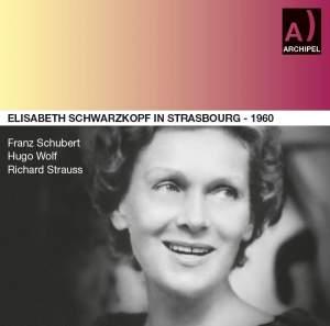 Elisabeth Schwarzkopf in Strasbourg 1960