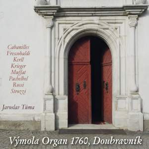 Vymola Organ,1760, Doubravnik