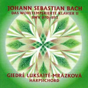 J. S. Bach: The Well Tempered Clavier, Book 2