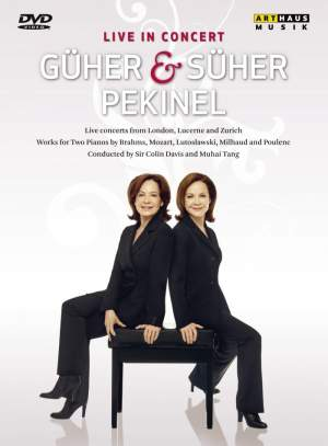 Güher & Süher Pekinel - Live in Concert Product Image
