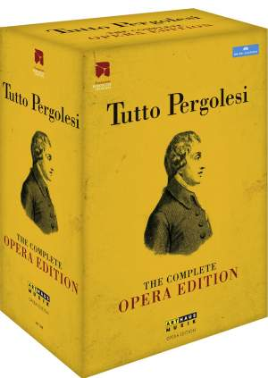 Tutto Pergolesi: The Complete Opera Edition