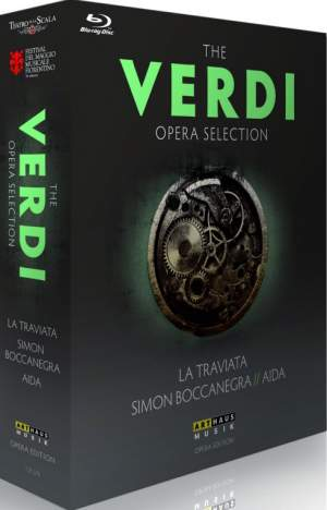 The Verdi Opera Selection: Blu-Ray Box Set