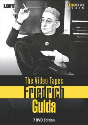 Friedrich Gulda Video Tapes