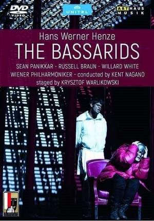 Hans Werner Henze: The Bassarids Product Image
