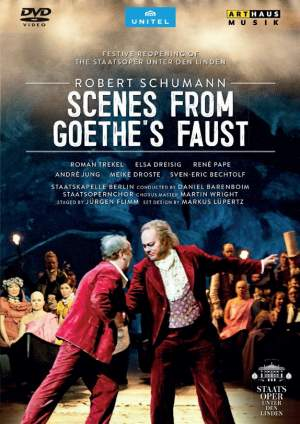 Schumann: Szenen aus Goethe's Faust Product Image