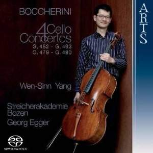 Boccherini: 4 Cello Concertos