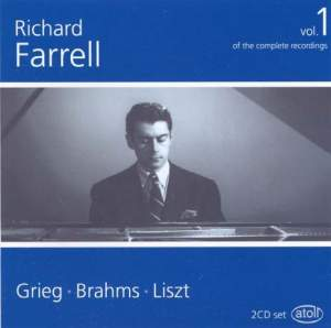 Richard Farrell - The Complete Recordings, Volume 1