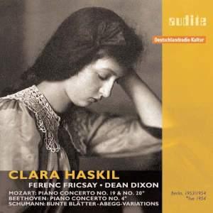 Clara Haskil plays Mozart, Beethoven & Schumann