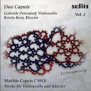 Matilde Capuis: Works for Cello & Piano Vol. 2