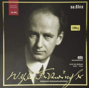 Wilhelm Furtwangler Berlin Philharmonic RIAS Recordings 1947-54 - Vinyl Edition