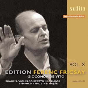 Brahms: Violin Concerto & Symphony No. 2