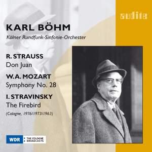 Karl Böhm conducts Strauss, Mozart & Stravinsky