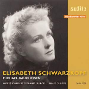 Elisabeth Schwarzkopf interprets songs by Wolf, Schubert & Strauss
