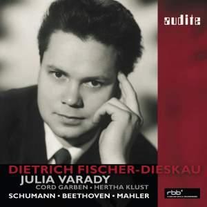 Fischer-Dieskau 85th Birthday Edition: Schumann duets & songs by Beethoven & Mahler