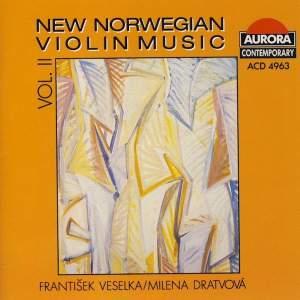 New Norwegian Violin Music Vol. II