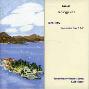 Brahms: Serenades Nos. 1 & 2