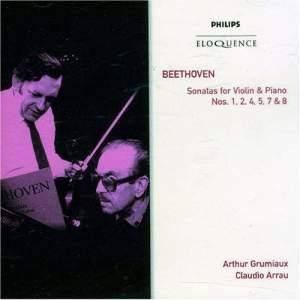 Beethoven: Violin Sonatas Nos. 1, 2, 4, 5, 7 & 8