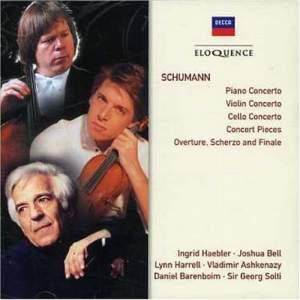 Schumann: Concertos & Concert Pieces